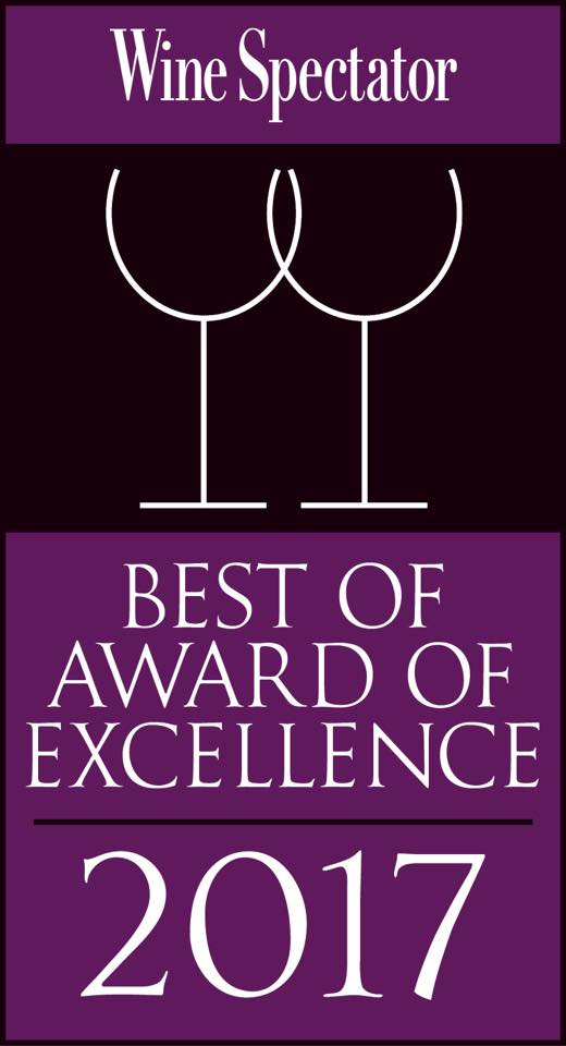 2017 Best of Excellence Award
