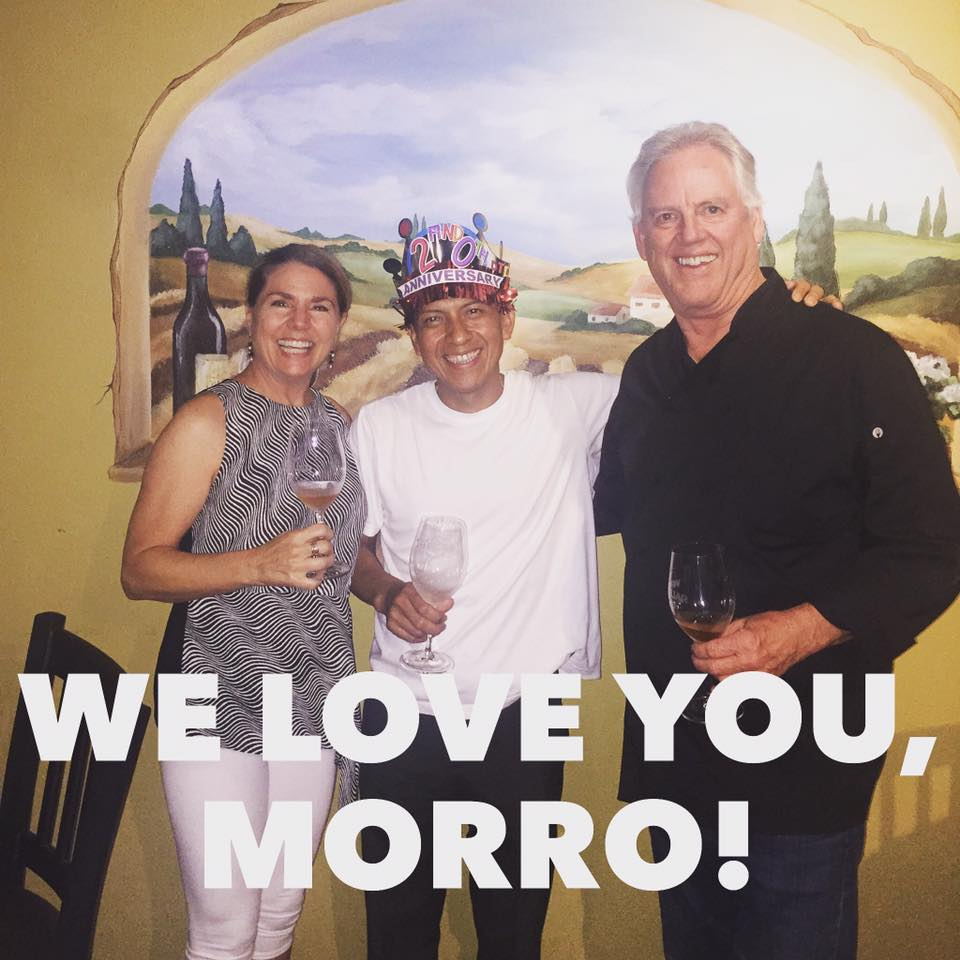 Lori & Gary Parker, with Morro